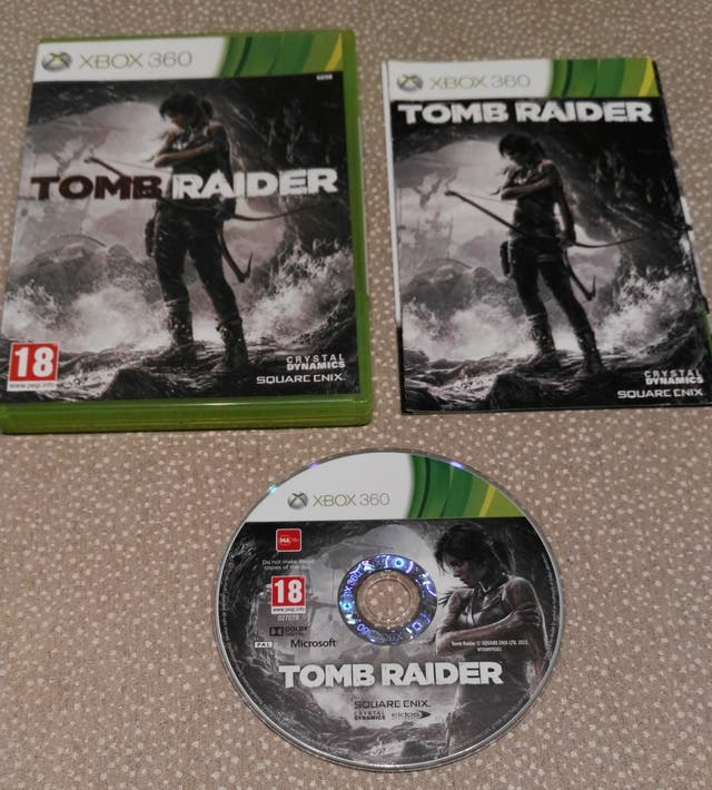 XBOX360 Tomb Raider
