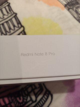 móvil nuevo Xiaomi Redmi note 8 pro verde 6gb ram