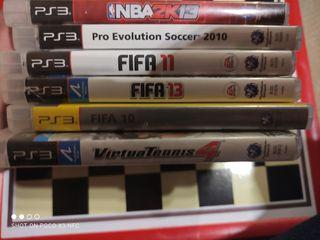 Pack Deportivo PS3 Pal España
