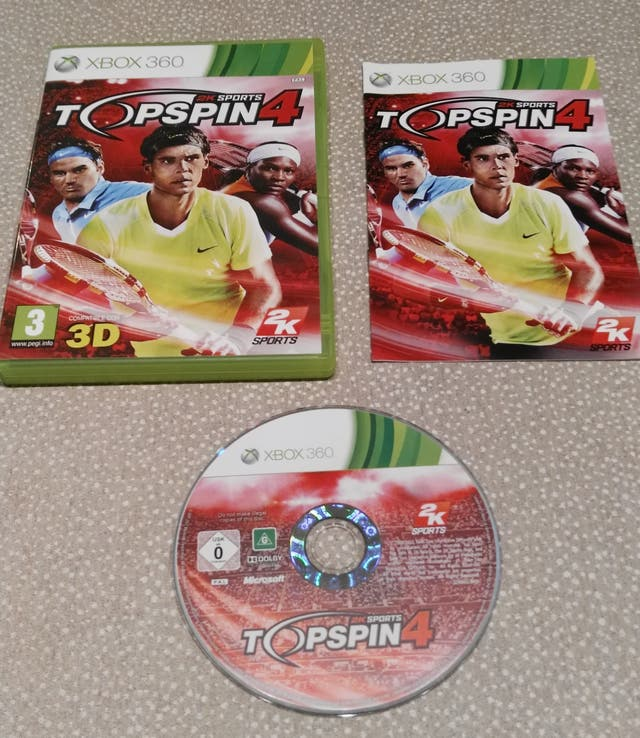 XBOX360 Top Spin 4