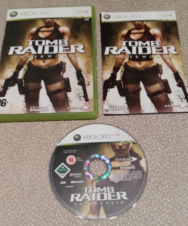 XBOX360 Tomb Raider UnderWorld