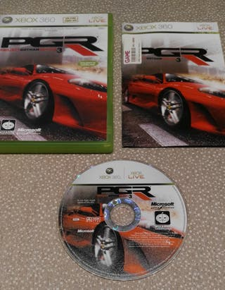 XBOX360 PGR 3 - Project Gotham Racing