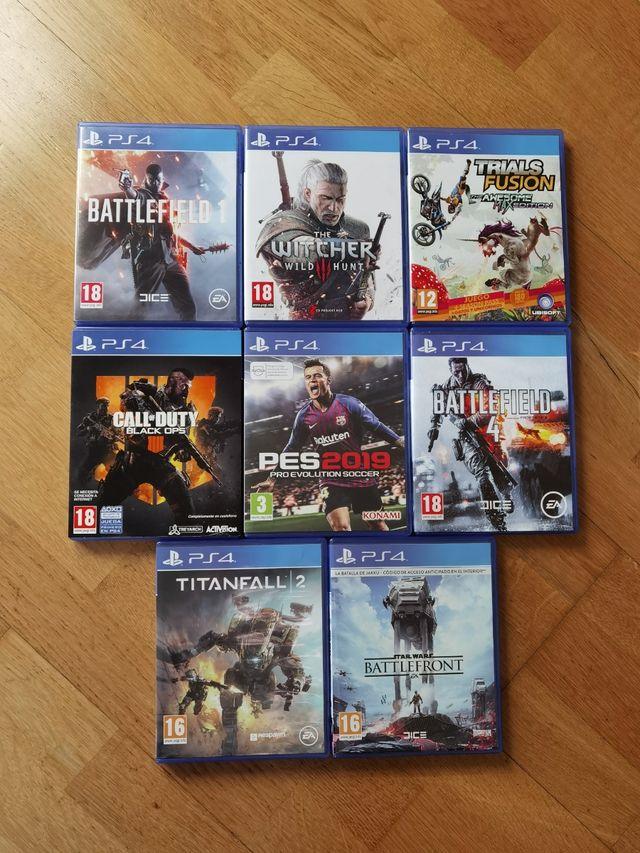 PS4 lote de 8 juegos