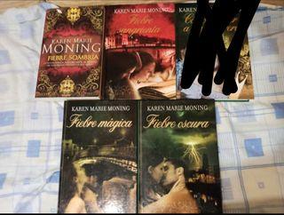 Lote novelas, saga fiebre