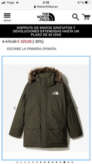 Abrigo MC MURDOR NORTH FACE