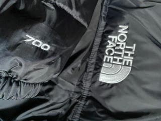 The North Face nuptse negro