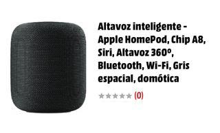 Home pod apple impoluto y con garantia