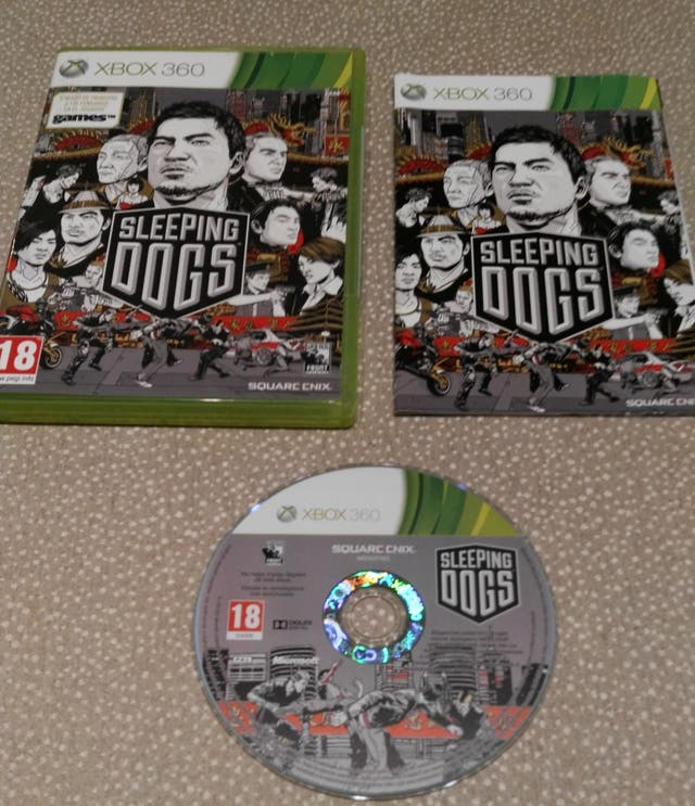 XBOX360 Sleeping Dogs