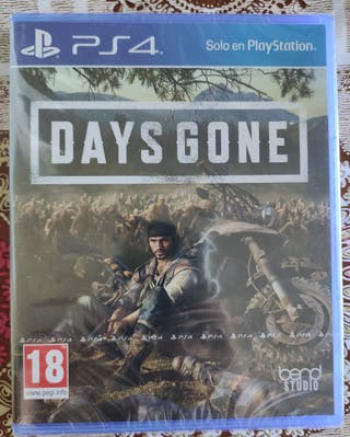 Juego de PS4: Days Gone