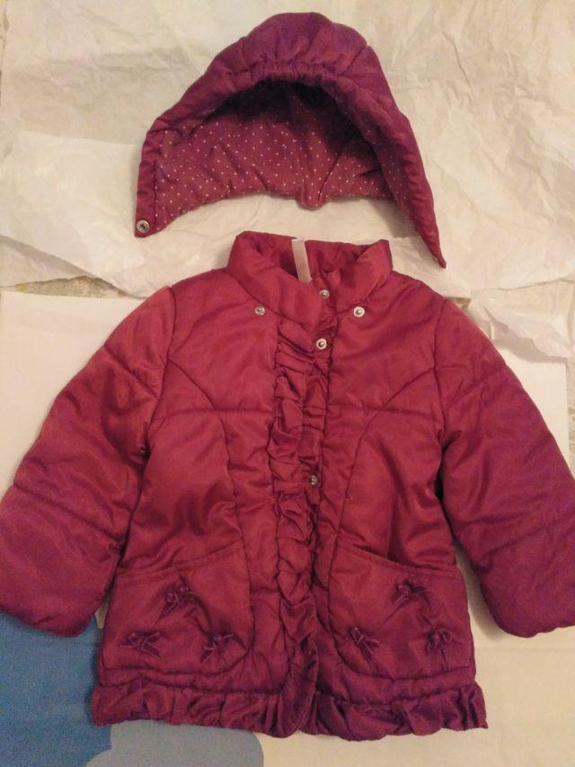 Abrigo Mayoral rojo, 12-18 meses