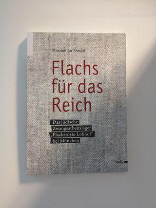 "Libro en alemán ""Flachs für das Reich""de M. Strnad"