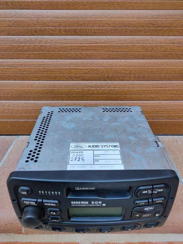 Radio-cassette original Ford