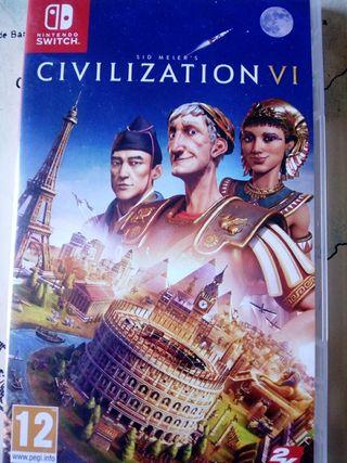 """Juego nintendo switch """"Civilization VI"""""""