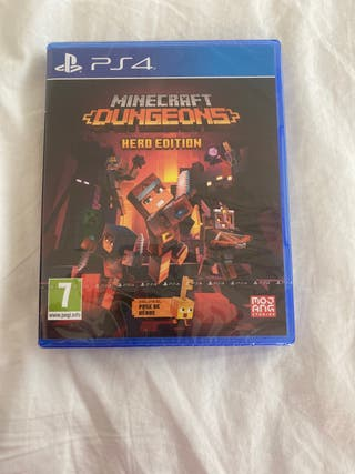 Minecraft dugeons hero edition ps4