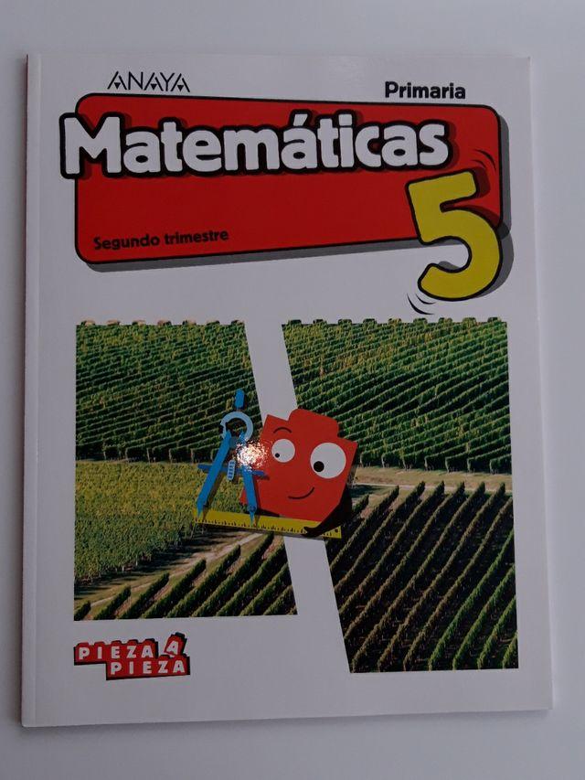 Pieza a pieza Matemáticas quinto primaria
