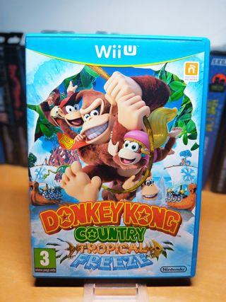 Wii u Donkey Kong