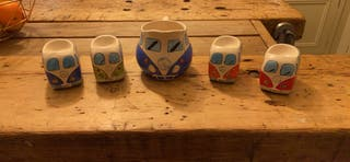 VW egg cups and jug