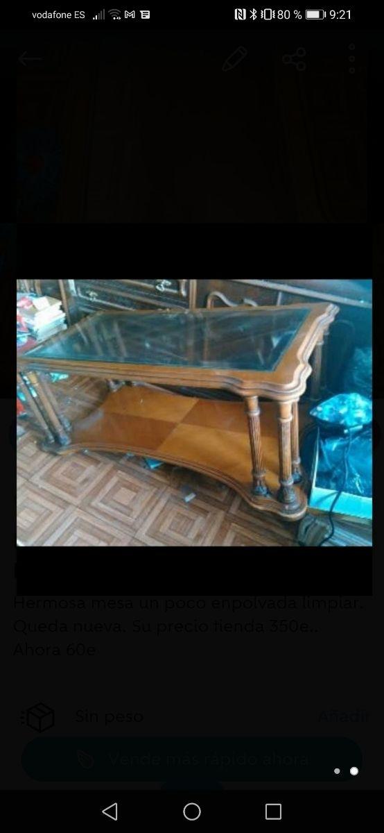 mesa de lujo colección