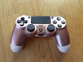 Playstation PS4 Dualshock 4 v2 metalizado rosa