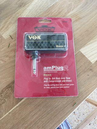 VOX AmPlug2 para bajo
