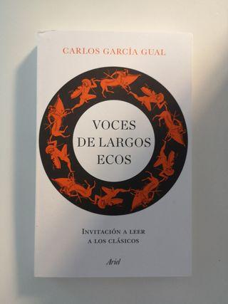 """Libro """"Voces de largos ecos"""""""