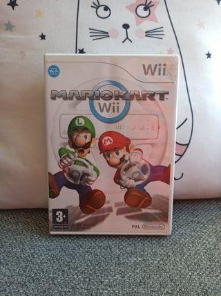 Wii Videojuego Mario Kart