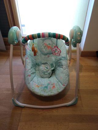 Hamaca bebé automática seminueva