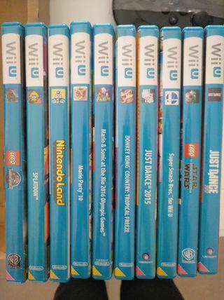 Lote juegos Wii U