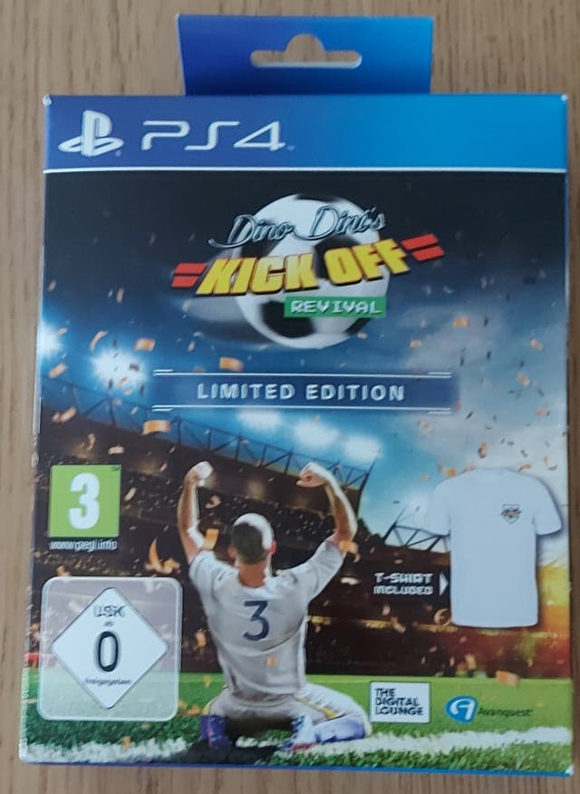 Kick Off Revival Limited Edition PS4