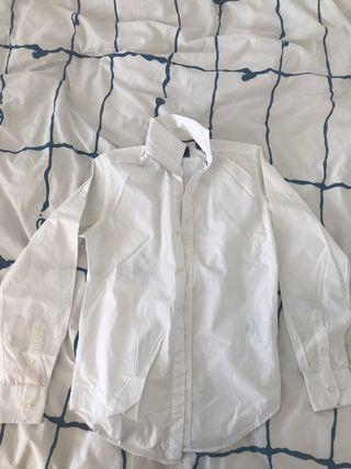 Camisa blanca Cortefiel