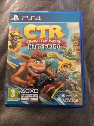 CTR crash Team Racing PS4
