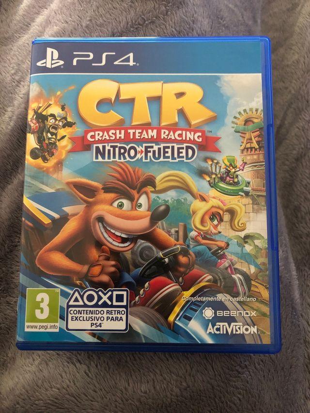 CTR crash Team Racing PS4