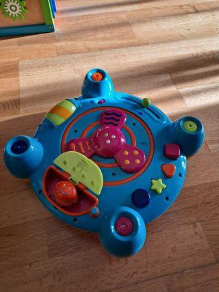 Juguete sensorial para la estimulación del niño