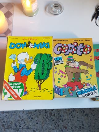 Cómics Copito Y Don Mini Lote