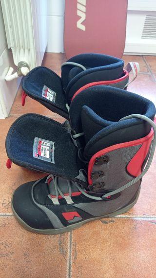 Tabla,fijaciones y botas snowboard Nidecker Matrix