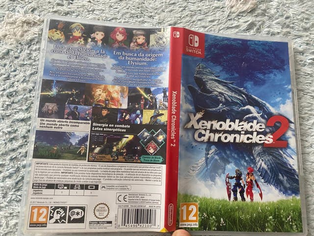 Xenoblade 2, Nintendo switch