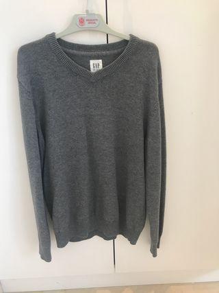 Sweater Gap Gris casi nuevo