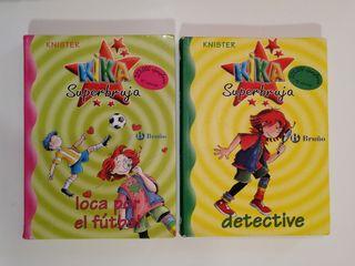 "Libros de ""Kika Superbruja"""