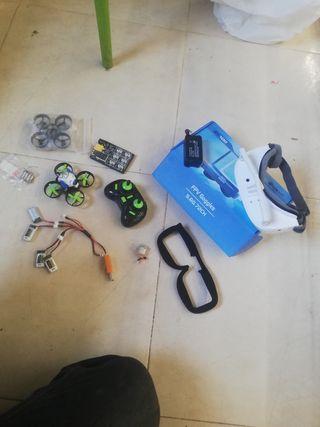 vendo mini drone eachine e10 fpv mas gafas