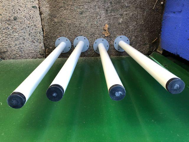 X4 patas de mesa ikea