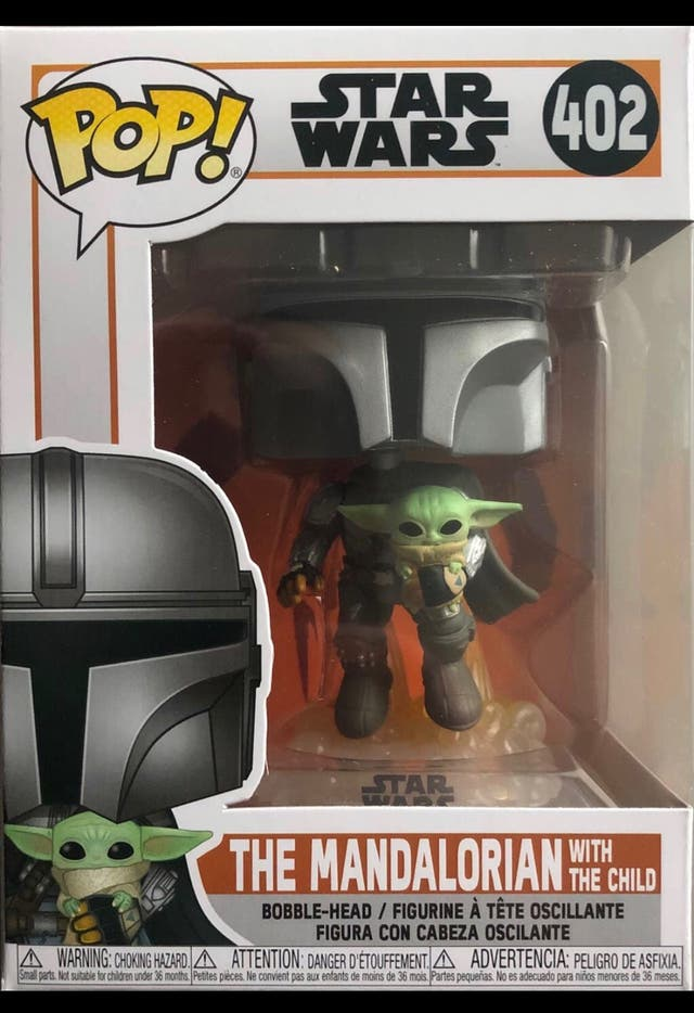 Funko Pop The Mandalorian with the Child