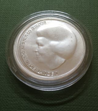 Moneda de 10 euros - Holanda 2002 - Boda real