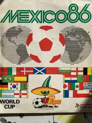 Álbum de cromos México 86 de Panini completo