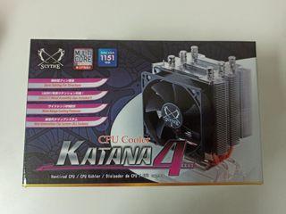 Scythe Katana 4 - Ventilador CPU - Cooler LGA 1151