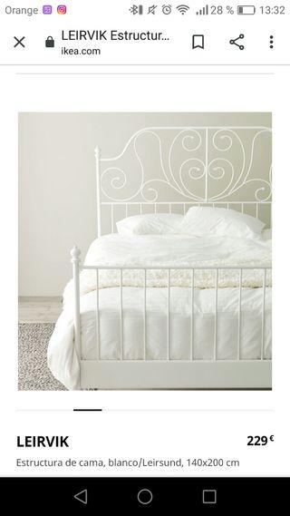 Cabecero blanco Ikea