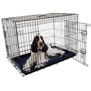 Jaula de perro plegable