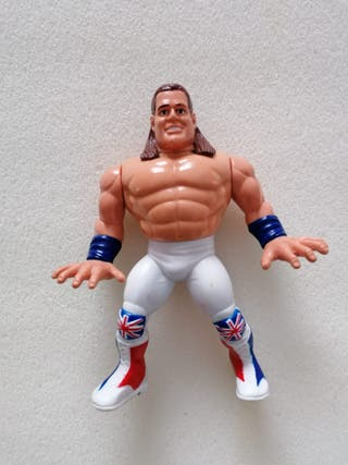 British Bulldog wwf Hasbro Pressing Catch