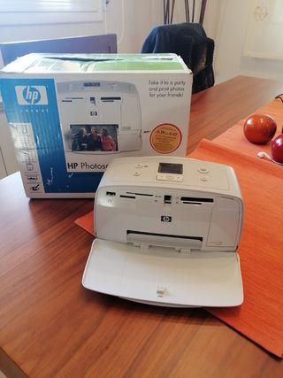 mini impresora fotográfica HP