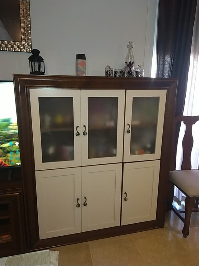 Muebles Madera De Pino De Segunda Mano Por 300 En Lucena En Wallapop