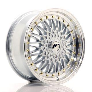 JR Wheels JR9 17x7,5 ET25 5x114/120 Silver w/Machi
